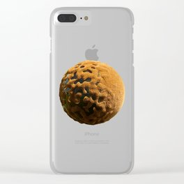 Planet #006 Clear iPhone Case