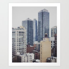Views of New York City Art Print