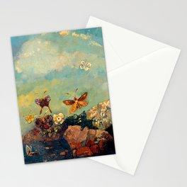 """Odilon Redon """"Butterflies"""" Stationery Cards"""