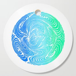 Swirls Cutting Board