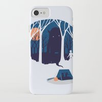 scary iPhone & iPod Cases featuring Scary story by SpazioC