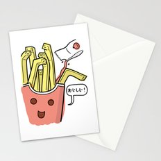 Friends Go Better Together 1/7 - French Fries and Ketchup Stationery Cards