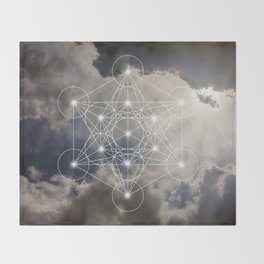 Merkabah Throw Blanket