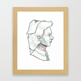 Nurse Framed Art Print