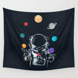 Space Circus Wall Tapestry