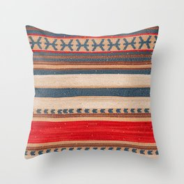N66 - Classic Oriental Moroccan Style Fabric. Throw Pillow