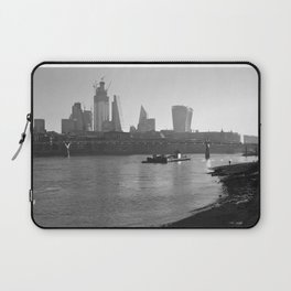 Low Tide on the Thames Laptop Sleeve