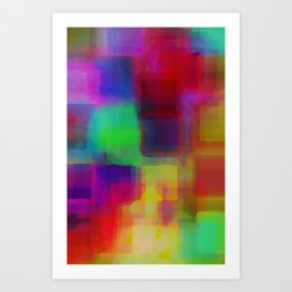 Bright#1 Art Print