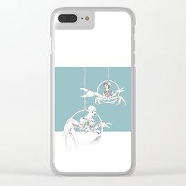 Weird & Wonderful: Crab Circus Clear iPhone Case