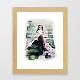 Stairwell Companions Framed Art Print