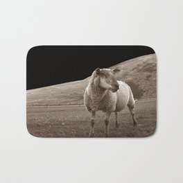 The sheep of mare crisium Bath Mat