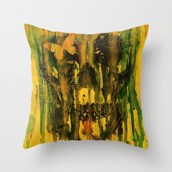 Birth of Oblivion Throw Pillow