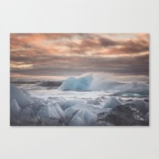 The Ice Cold Heaven Canvas Print
