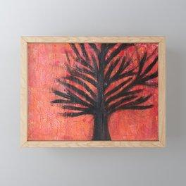 Autumn Dusk Framed Mini Art Print