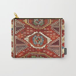 Bergama West Anatolian Village Rug Print Carry-All Pouch