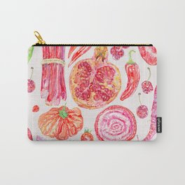 Harvest of Red - Neutral Carry-All Pouch