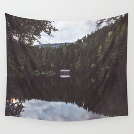 Cabin - Landscape and Nature Photography Wall Tapestry