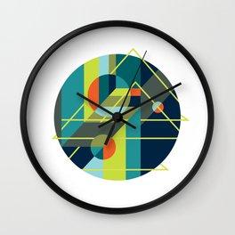 Scenarios, No. 1 on White Wall Clock