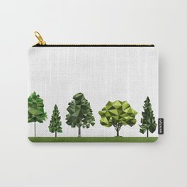 Poly geometric trees Carry-All Pouch