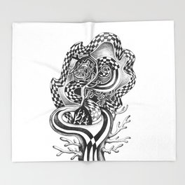 magic tree Throw Blanket