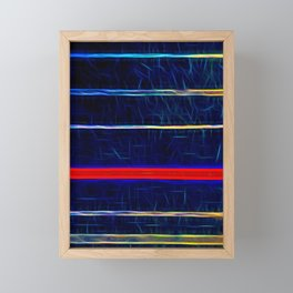 Wired up by Brian Vegas Framed Mini Art Print