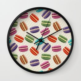 Macaroon Wall Clock