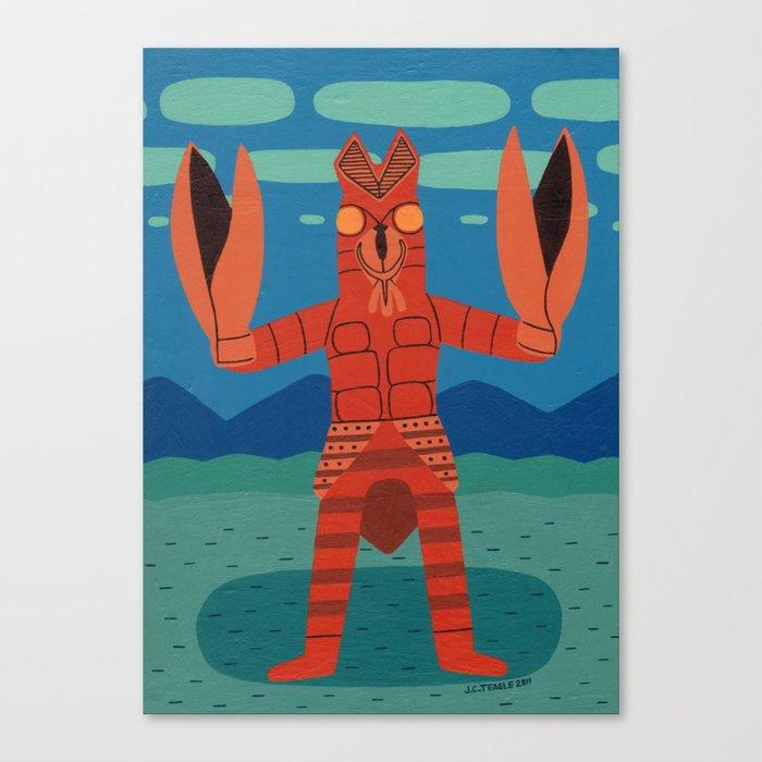 Alien Baltan Canvas Print