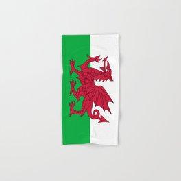 Welsh Flag of Wales Hand & Bath Towel