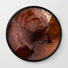 0761 - Little Wild Horse Canyon, Utah Wall Clock