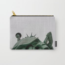 A Lady in green - NYC Carry-All Pouch