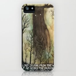 Far From the Wicked iPhone Case