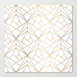 Polygonal Pattern Canvas Print