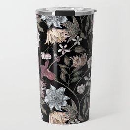 colorful floral pattern II Travel Mug