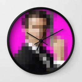 James Bond - Portraits of famous people Wall Clock