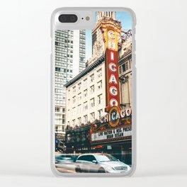 chicago strret Clear iPhone Case