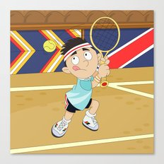 Olympic Sports: tennis Canvas Print