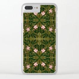 Briar Rose Clear iPhone Case
