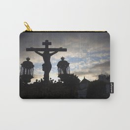 Jesus Christ at sunset Carry-All Pouch
