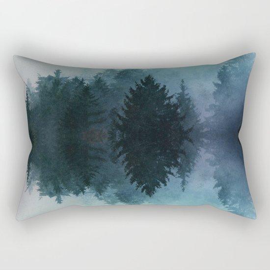 Forest Reflections II Rectangular Pillow