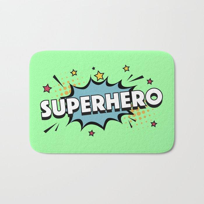 The Superhero I Bath Mat