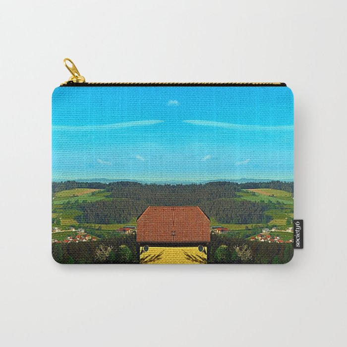 Small farm with built-in panoramic view Carry-All Pouch