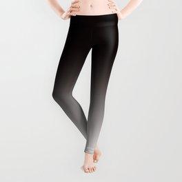 Monochromatic Background, Faded Black to Grey Leggings