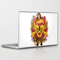 rockabilly Laptop & iPad Skins featuring Sinful rockabilly  by Tshirt-Factory
