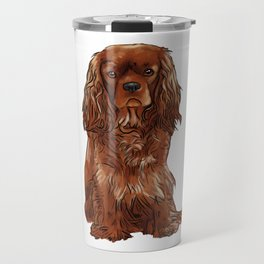 Cavalier King Charles Spaniel - Ruby Travel Mug