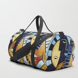 Blues Guitarist Duffle Bag
