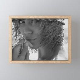 7629 Come Get Me! Rachael enjoying Delray Beach Framed Mini Art Print