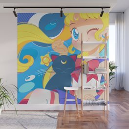 Sailor Moon by Bunny Wall Mural