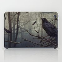 raven iPad Cases featuring Raven by Raven-Art