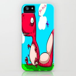 Jurrasic Baby iPhone Case