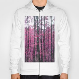 Pink Forest Hoody